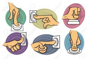 14893999-jeu-de-6-mains-style-cartoon-appuyer-sur-un-bouton-de-couleur-banque-dimages